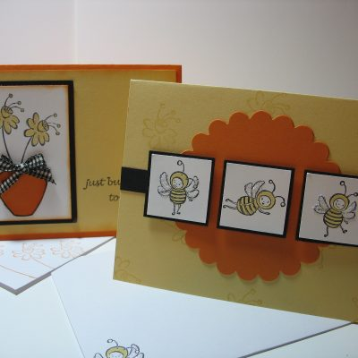 February Card Kit – Just Buzzin' By