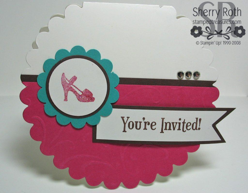 Scallop Bridal Shower Invite