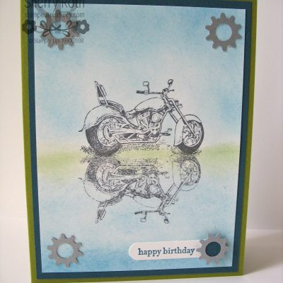 Motorcycle Card and Reminders