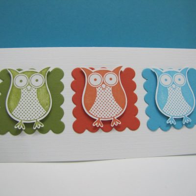 Stampin' Up! Simple Owl Card