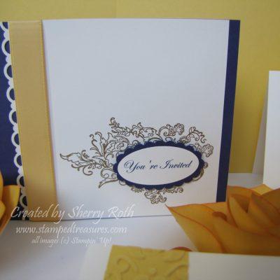 Wedding Invitation – Elegant Elizabethan Set
