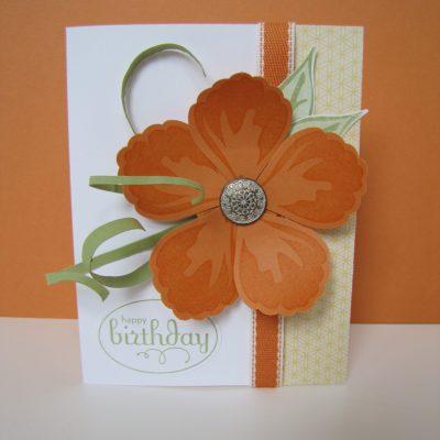 Build-a-Blossom Birthday Card
