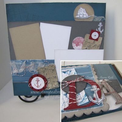 May Scrapbook Kit with a Masculine Feel