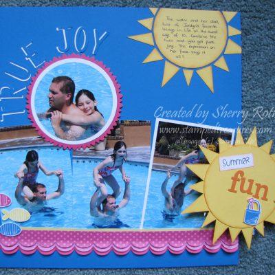 Summer Scrapbook Kit
