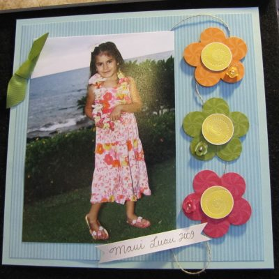 Sweets for the Sweet – Scrapbook Layout