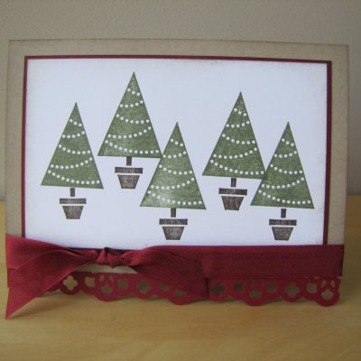Pennant Parade Christmas Card & Gift with Online Order