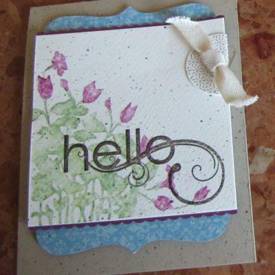My Friend – Hello Card