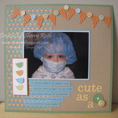 Best of Everything Scrapbook Layout