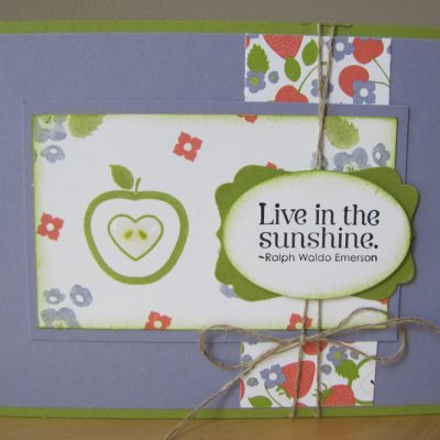 Live in the Sunshine Swap