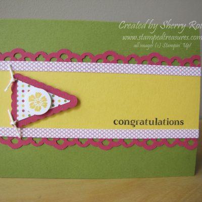 Playful Polka Dots Congratulations Card