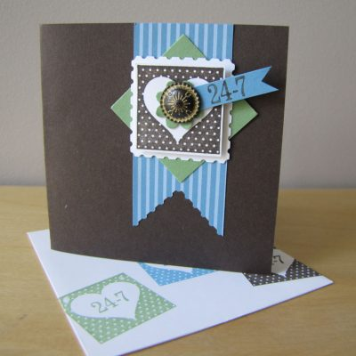 Postage Stamp Punch – another great use!