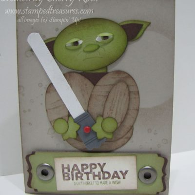 Star Wars Punch Art – Yoda
