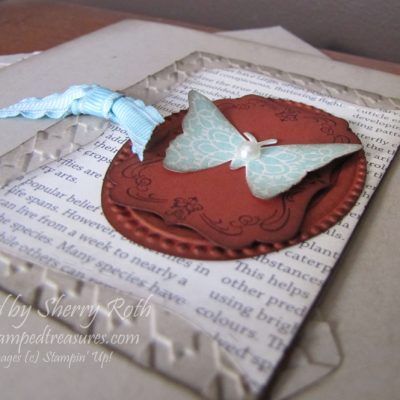 Creative Elements Butterfly Card