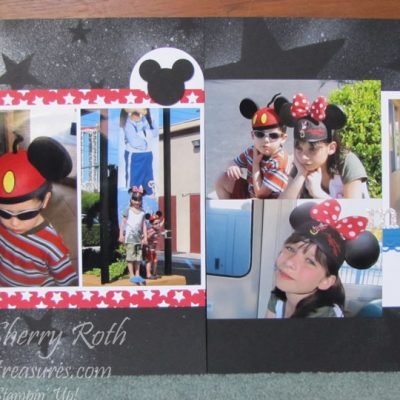Magical Scrapbook Layout