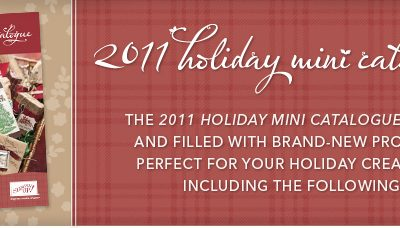 Holiday Mini Catalogue is Here!