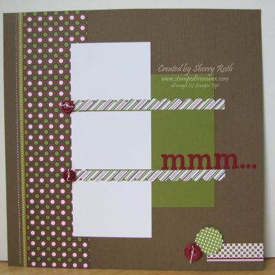 Christmas Lane Baking Layout