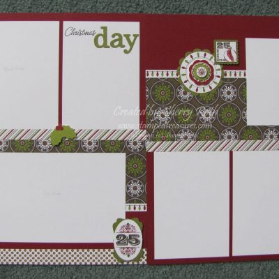 Christmas Day Layout