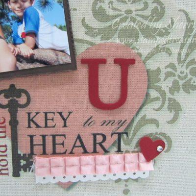 Key to my Heart Hybrid Artwork