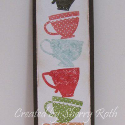 Tea Shoppe Bookmark