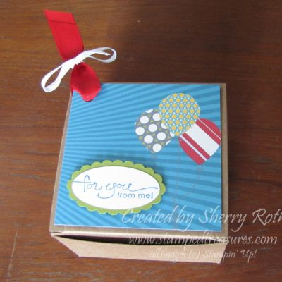 Party Favour Box – with My Digital Studio