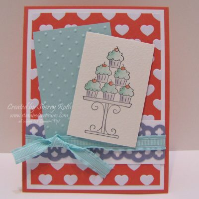 Crazy for Cupcakes Card