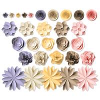 Soft Blooms Digital Layout