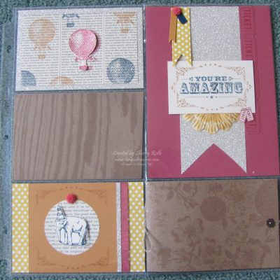 Stampin' Up!'s Divided Page Protectors