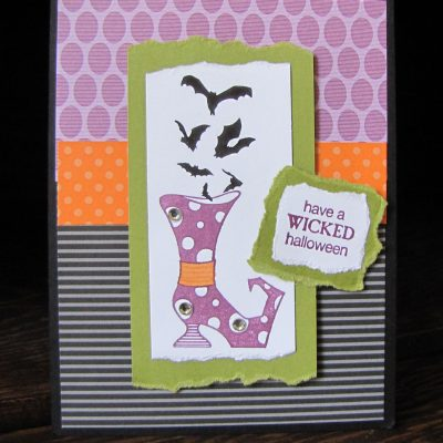 Bootiful Occasions Halloween Card & Video