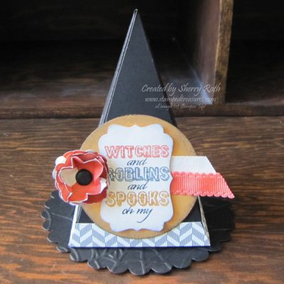 Petal Cone Witches Hat
