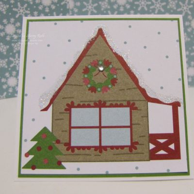 Christmas Mini Note Card Video