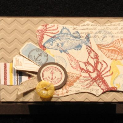 Stampin' Up!'s By the Tide Samples