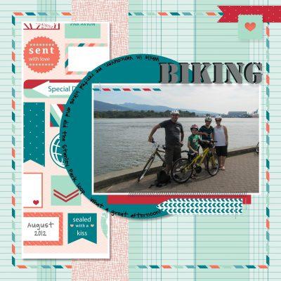 MDS Monday – Biking Layout