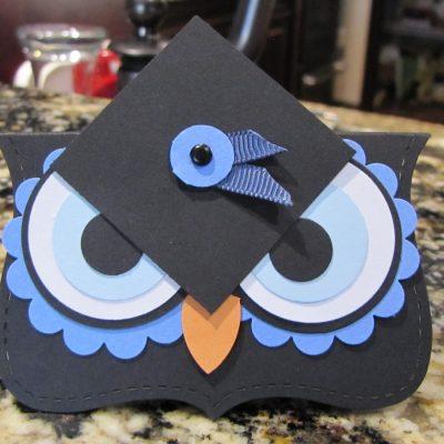 Graduation Owl Punch Art