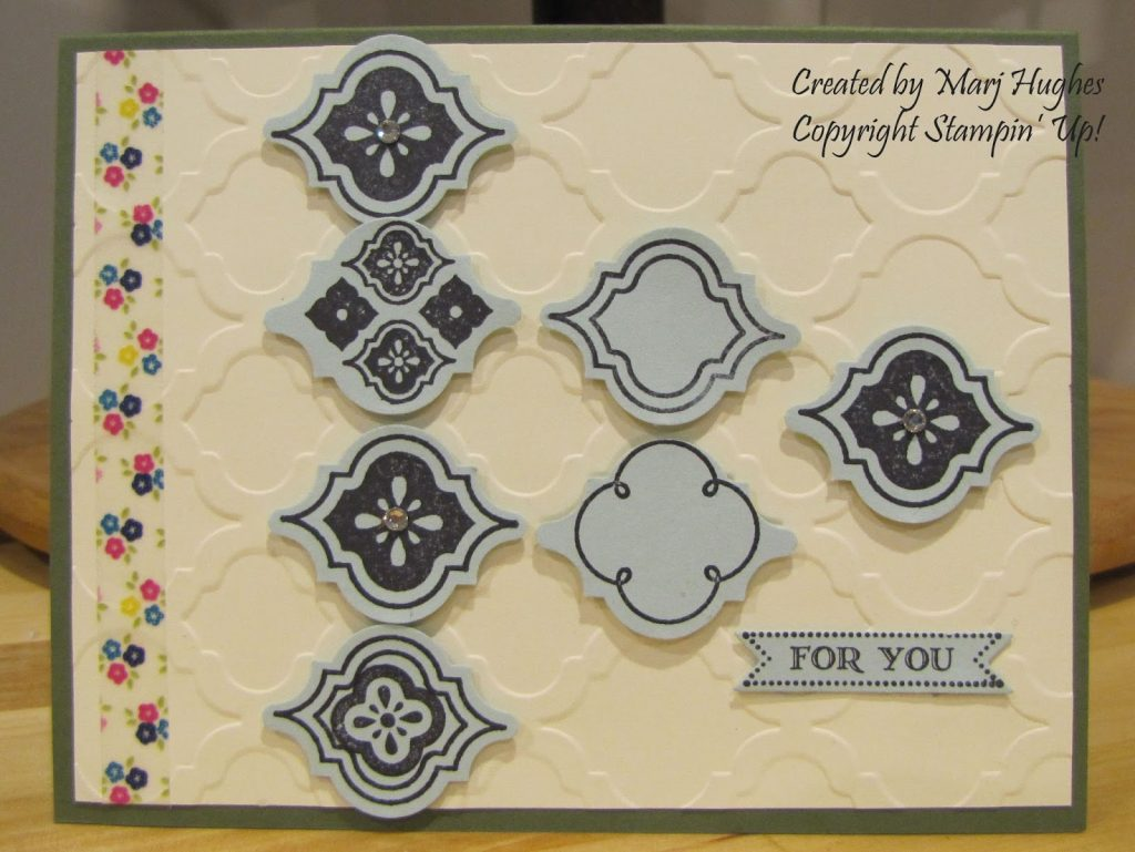 August Card Guts - Part 1 - Stamped Treasures, Sherry Roth