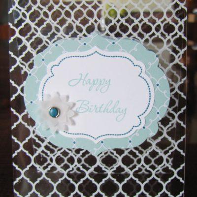 Quatrefancy Window Sheet Card