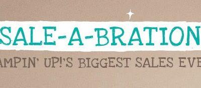 Sale-A-Bration Starts Today!!!