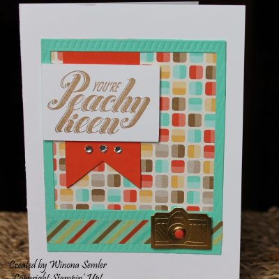 Stampin' Up! Peachy Keen Stamp Set