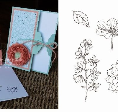 Peaceful Petals Stamp of the Month