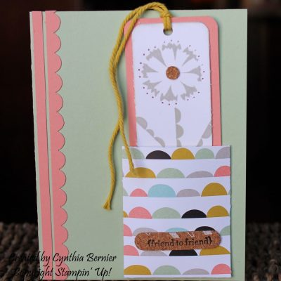 Petal Parade Bookmark Card