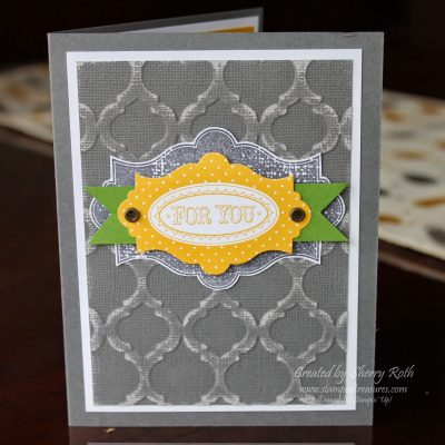 Layered Labels and Core'dinations Cardstock