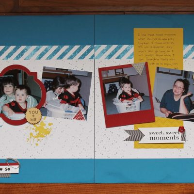 Sweet, Sweet Moments Layout