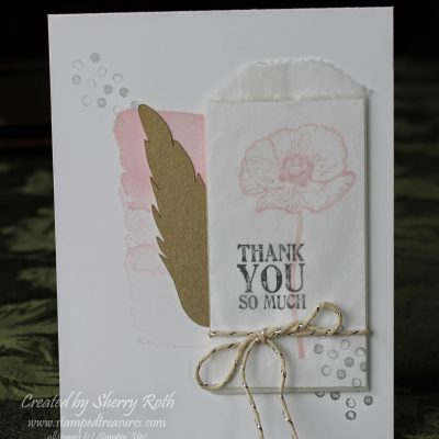 Happy Watercolor Thank You Card