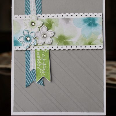 Petite Petals Secret Sister Card
