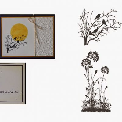 Serene Silhouettes – Stamp of the Month