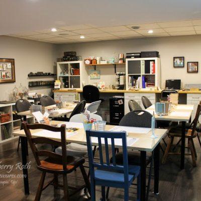 Craft Room/Studio Tour
