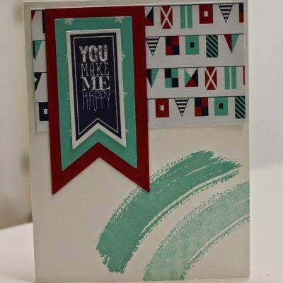 July Treasure Stampers Card Guts