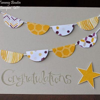 Sassy Salutations Congratulations Card