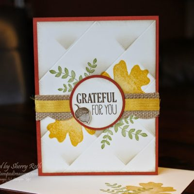Faux Tile Technique Card