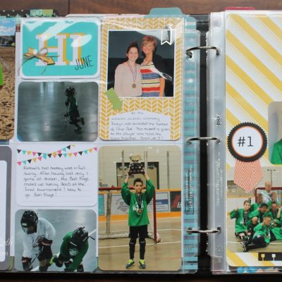June Documented using Project Life by Stampin' Up!