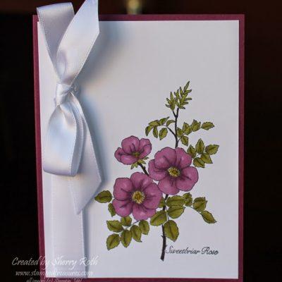 Sweetbriar Rose Blendabilities Card